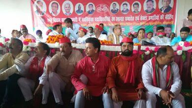 Photo of सपा की सेक्टर प्रभारी की बैठक संपन्न हुई है क्षेत्रीय नेताओं को नहीं मिला मंच
