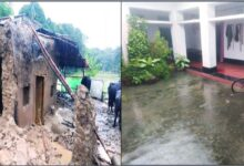 Photo of 24 घण्टे से जारी मूसलाधार बारिश ने खोली स्मार्ट गांवों के दावों की पोल
